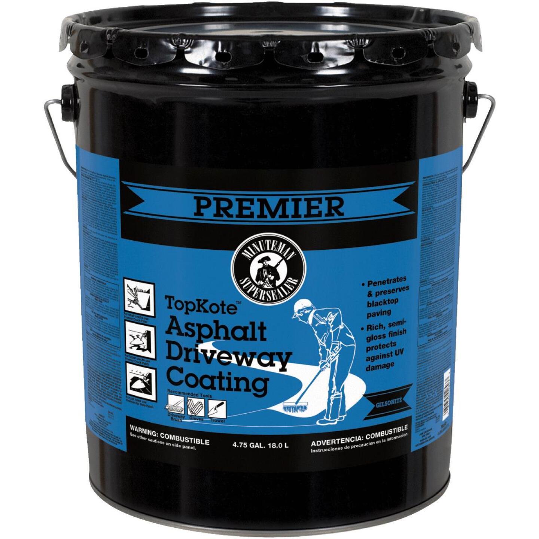 Premier TopKote 4.75 Gal. Blacktop Asphalt Driveway Coating Image 1