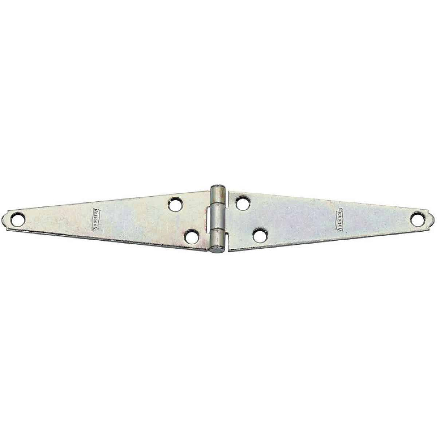 National 5 In. Zinc Light Strap Hinge Image 1