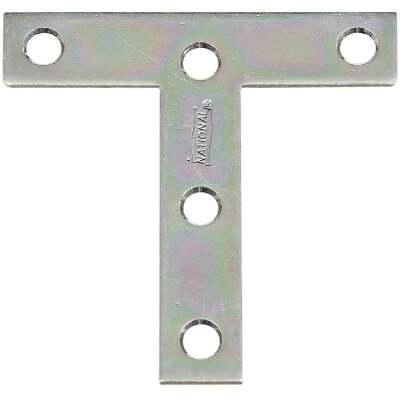 "National 3"" x 3"" Zinc T-Plate, (2-Pack)"
