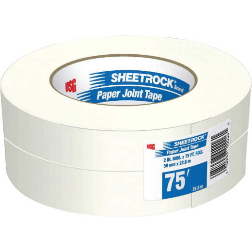 Sheetrock 2-1/16 In. x 75 Ft. Paper Joint Drywall Tape