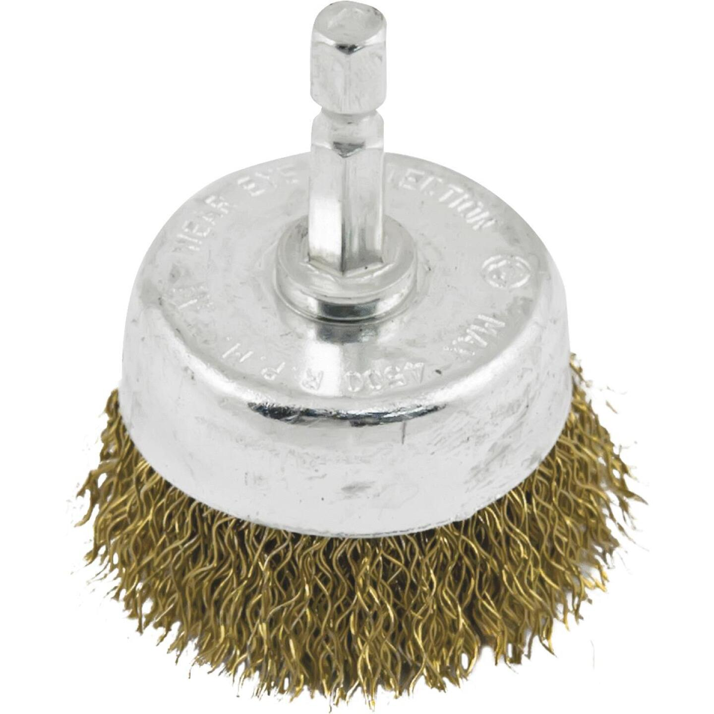 Do it 1-1/2 In. Fine Drill-Mounted Wire Brush Image 1