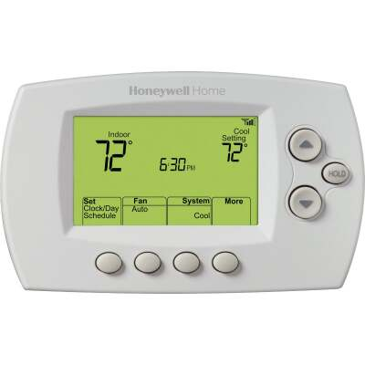 Honeywell 7-Day Programmable White Digital Thermostat