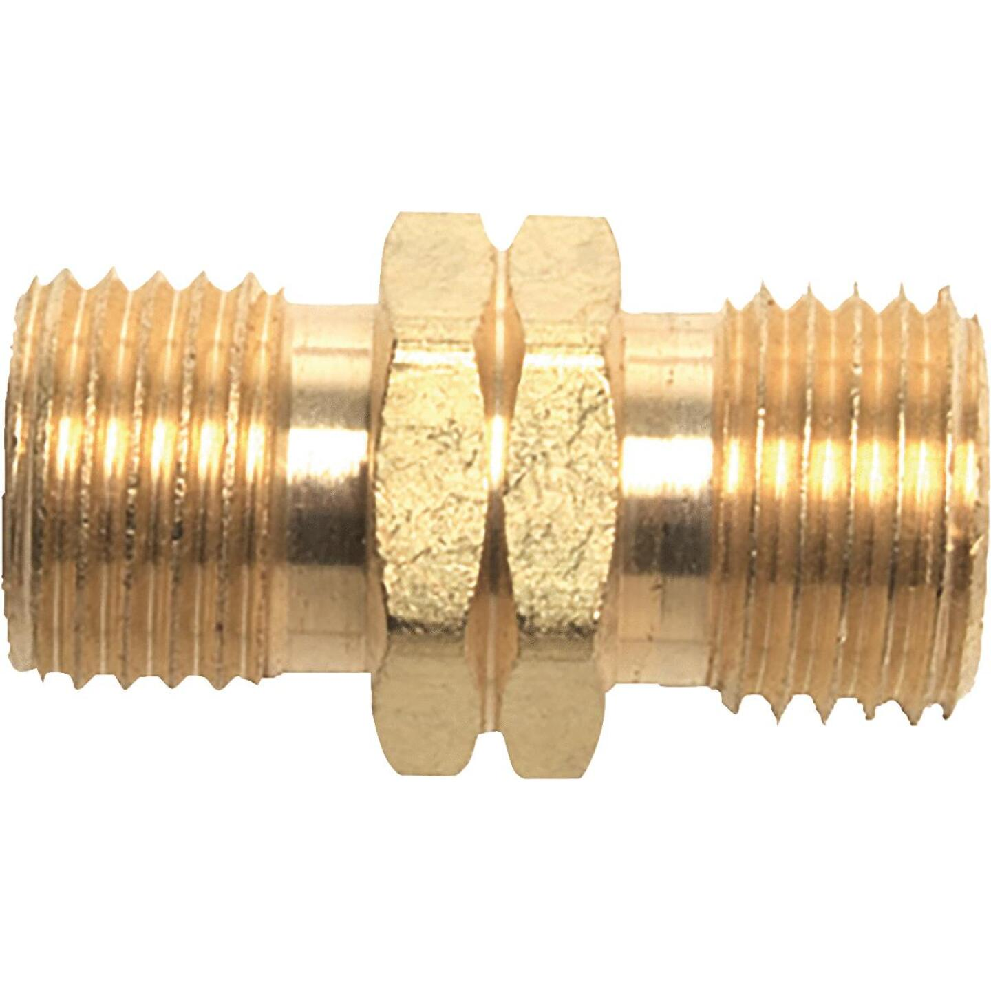 MR. HEATER 9/16 In. LHMT x 9/16 In. LHMT Brass Male Pipe Fitting Image 1