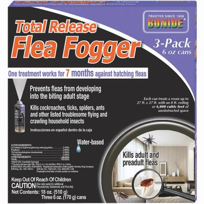 Bonide Flea 6 Oz. Indoor Insect Fogger (3-Pack)