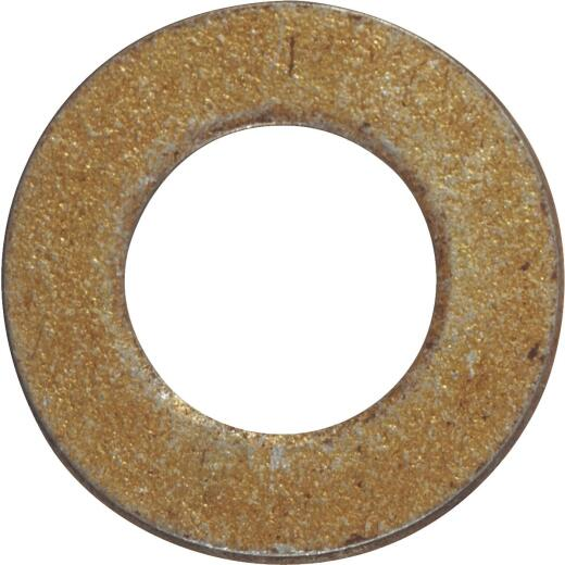 Hillman 5/8 In. Hardened Steel Yellow Dichromate Flat Washer (25 Ct.)