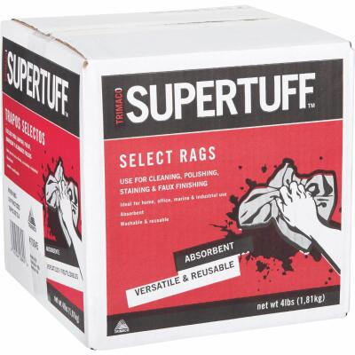 Trimaco SuperTuff 4 Lb. Painter's Rags